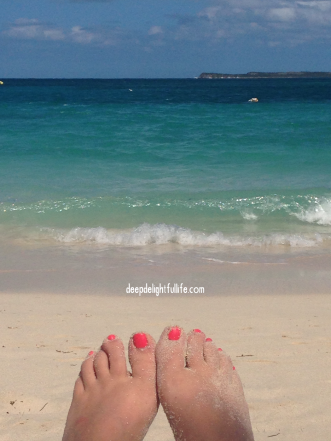my own photo, taken at Orient Beach in St. Martin